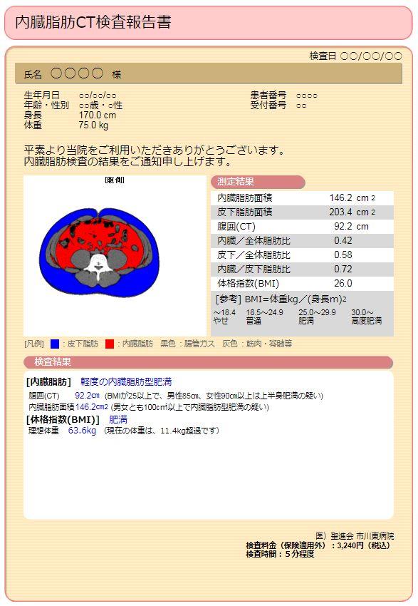 内臓脂肪CT